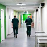 Mange medicinstuderende arbejder på landets hospitaler og har dermed tæt kontakt med udsatte borgere. Her ses den nye pandemiafdeling på Aalborg Universitetshospital, som står klar til brug for smittede med coronavirus.