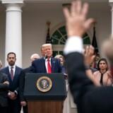 Præsident Trump erklærede i en tale fredag USA i nødretstilstand på grund af spredningen af coronavirus.