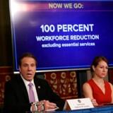 Staten New York i USA har nu bedt alle ikke-essentielle virksomheder om at sende deres medarbejdere hjem i et forsøg på at inddæmme coronavirussen.
