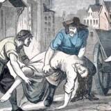 Det har været et ædelt, men meget lidt attraktivt job at være ligbærer under pesten i København.