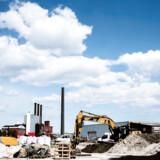 Byggeriet er blevet ramt af coronakrisen. Der er 1.000 nye ledige i byggebranchen, og dertil kommer dem, som er sendt hjem med lønkompensation. Arkivfoto: Sophia Juliane Lydolph