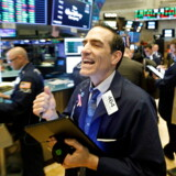 epa08318836 (FILE) - Traders work on the floor of the New York Stock Exchange (NYSE) in New York, New York, USA, 20 March 2020 (reissued 24 March 2020). The New York Stock Exchange bounced back from some of its previous losses 24 March 2020 caused by fears of a global recession, amid hopes the US Senate may soon pass a stimulus bill valued at some two trillion USD. EPA/JUSTIN LANE