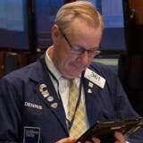 Aktierne er i voldsom optur efter deres lige så voldsomme nedtur. Arkivfoto: Bryan R. Smith/EPA/Ritzau Scanpix.