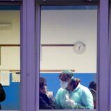 Sundhedsarbejdere i gang med at teste indbyggerne i Vo' Euganeo. Så godt som hele befolkningen i den lille by nær Venedig blev undersøgt for smitten i slutningen af februar, hvilket både har stoppet epidemien og givet bemærkelsesværdige forskningsresultater.
