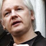 Julian Assanges advokater vil have ham løsladt, da de mener, at han er i fare for at blive coronasmittet. Arkivfoto: Andy Rain/EPA/Ritzau Scanpix