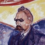 Det var Nietzsches tanker, især »Also Sprach Zarathustra«, der inspirerede Strindberg til hans ideer om »nerveadelen«. Her er Nietzsche portrætteret af Edvard Munch, selv fuldbyrdig nerveadelsmand.