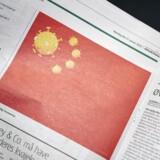 »Vestlige medier og politikere har ligeledes haft travlt med en anden type af fremstilling, der har afledt opmærksomheden fra epidemiens alvor, nemlig de racistiske fremstillinger af virussen som særskilt kinesisk,« skriver Mette Thunø og peger bl.a. på Jyllands-Postens tegning af det kinesiske flag med coronavirus-symboler.