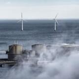 Strøm fra vindmøller skal forsyne en kommende brintfabrik i København.