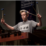 Noah Gudiksen på marimba, Berlingske Klassiske Musikkonkurrence 2017