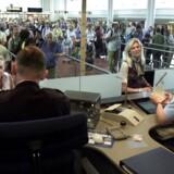 Paskontrol af EU-borgere vil give længere køer i Københavns Lufthavn.