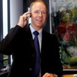 Telias administrerende direktør, Jesper Brøckner, er klar til at trykke på knappen for et nyt og hurtigere mobilnet, så snart det bliver muligt. Men det kan tage sin tid. Foto: Scanpix