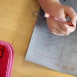 Otte procent af elever i 4. - 9. klasse føler sig udenfor i skolen.