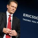 Ericssons afgående topchef, Carl-Henric Svanberg, mistede en vigtig ordre i sit hjemland. Foto: Scanpix