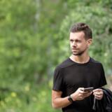 Medstifteren af Twitter, Jack Dorsey, har ingen formel uddannelse, men er god for 1,18 mia. dollar. Arkivfoto: Drew Angerer/AFP