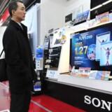 Der er stigende salg i Sonys produkter efter over et års krise. Foto: Yoshikazu Tsuno, AFP/Scanpix