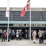 Fagbevægelsens to store paraplyorganisationer, LO og FTF, afholder kongres på Radisson i Odense, fredag den 13. april 2018. LO og FTFs medlemmer skal tage stilling til om de ønsker en fusion mellem de to organisationer.. (Foto: Mads Claus Rasmussen/Ritzau Scanpix)