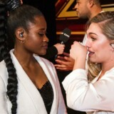 Ladies With Attitude måtte tydeligt berørt forlade X Factor. (foto: Martin Sylvest/Scanpix 2017)