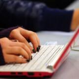 Computersalget stiger betragteligt igen. Navnlig de helt små mini-PCer og de lidt større, almindelige bærbare PCer til pressede priser er populære. Foto: Frederic R. Brown, AFP/Scanpix