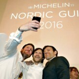 Geranium blev i dag hædret med tre stjerner af Michelin.