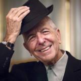 Leonard Cohen spiller i Danmark i slutningen af august.