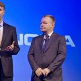 Nokias bestyrelsesformand, Risto Siilasmaa (til venstre), har forgæves forsøgt at forhandle Stephen Elops (til højre) fratrædelsesbonus ned. Arkivfoto: Markku Ojala, EPA/Scanpix