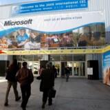Udstillere begynder at ankomme til verdens største elektronikmesse, der åbner i dag, onsdag.