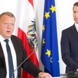 Lars Løkke Rasmussen besøgte den østrigske kansler, Sebastian Kurz, midt i maj. De to er enige om at forhandkle med en række europæiske lande om at oprette et udrejsecenter for afviste asylansøgere udenfor EU.