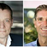 Dennis Kilian (tv) og René Brøchner (th).