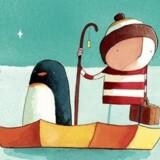 Illustration fra bogen »Hittegods« af Oliver Jeffers.