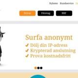 Den svenske internetudbyder Bahnhof fik besøg af Säpo, som ønskede direkte adgang til kundernes data. Det nægtede selskabet, som bl.a. tilbyder, at man kan surfe anonymt.