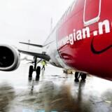 Arkivfoto. Norwegians trafiktal for januar viser, at mere end 2,1 mio. passagerer fløj med selskabet i årets første måned. Det er 20 pct. flere end i samme måned året før.
