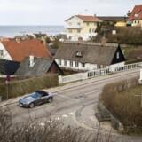 Tisvilde Hovedgade. I en ny undersøgelse fra Boliga viser det sig at Tisvildeleje topper det nordsjællandske boligmarked med de højeste kvadratmeterpriser.