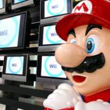 Super-Mario er ved at miste kræfterne og pusten - Nintendo går tilbage. Foto: Yoshikazu Tsuno, AFP/Scanpix