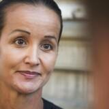 Hjerneforsker Milena Penkowa efter domsafsigelsen i Østre Landsret torsdag d. 8 september 2016 i København. Penkowa blev frikendt for groft dokumentfalsk. (Foto: Ólafur Steinar Gestsson/Scanpix 2016)