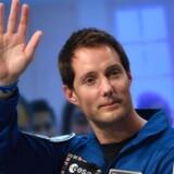 Astronauten Andreas Mogensen udførte sidste år forsøg med vandrensning på Den Internationale Rumstation. Nu overtages disse test af det danske udstyr af den franske astronaut Thomas Pesquet. Scanpix/Eric Feferberg