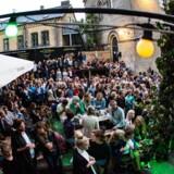 Koncert på Pumpehusets udendørs scene, Byhaven. Foto: Scanpix
