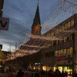Arkivfoto. Christina Ann Sydow blev afbrudt midt i julegaveindkøbende på Strøget i Aarhus i sidste uge, da en mand overfaldte sin kæreste.