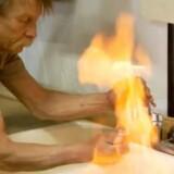 I dokumentarfilmen »Gasland« vises der bl.a. en scene, hvor en beboer, som hævdes at bo ved en skifergasboring, oplever, at der kommer gas ud af vandhanen, som han kan antænde med en lighter. Dokumentaren, der er instrueret af Josh Fox i 2010, blev kåret som bedste amerikanske dokumentar på Sundance festivalen samme år, og har betydet, at fracking er blevet både berygtet og forbudt i adskillige amerikanske stater, lige som det også er forbudt i flere europæiske lande.