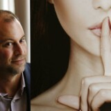 Ashley Madison-stifteren Noel Biderman poserer under et interview i Hong Kong.