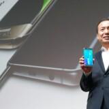 Samsung lagde an til et hektisk mobilefterår ved at flytte lanceringen af de nye Galaxy S6 Plus- og Galaxy Note 5-telefoner en måned frem for at vinde tid og terræn, inden Apple kommer rullende med sin opdaterede iPhone midt i september. Arkivfoto: EPA/Yonhap/Scanpix