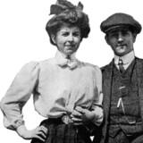 Tanne og Tommy, fotograferet 1908. Foto fra bogen: Privateje/Henriette Tost.