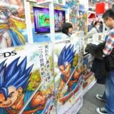 Japanske Nintendo gør sig klar til at lancere en ny DS-spillemaskine med 3D-spil. Foto: Everett Kennedy Brown, EPA/Scanpix