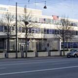 Virkelighedens amerikanske ambassade i København. Ny international TV-serie, som skal indspilles i København handler om åbningen af en ny amerikansk ambassade, der ender i gidseltagning.