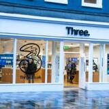 En fusion i Storbritannien mellem »3« og konkurrenten O2 vil skabe landets største teleselskab, hvor »3« i Danmark er det mindste af de stadig fire. Foto: »3«