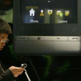 De nyeste mobile teknologier er udstillet til mobilmessen i Barcelona.
