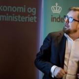 Simon Emil Ammitzbøll-Bille (LA) fremlagde mandag Økonomisk Redegørelse.(Foto: Liselotte Sabroe/Scanpix 2017)