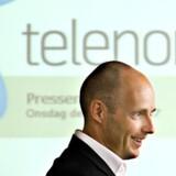 Telenors danske topchef - en uges tid endnu - Henrik Clausen forventer ny vækst i år. Foto: Scanpix