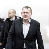 Lars Løkke til regeringsseminar på Kragerup Gods.