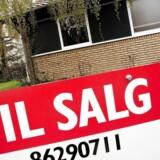 Arkivfoto. Der kan være mange penge at spare, hvis du forelsker dig i et hus, der er på tvangsauktion.