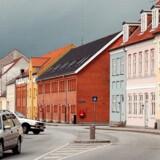 Andelslejligheder lige udenfor Klosterporten i Sorø.